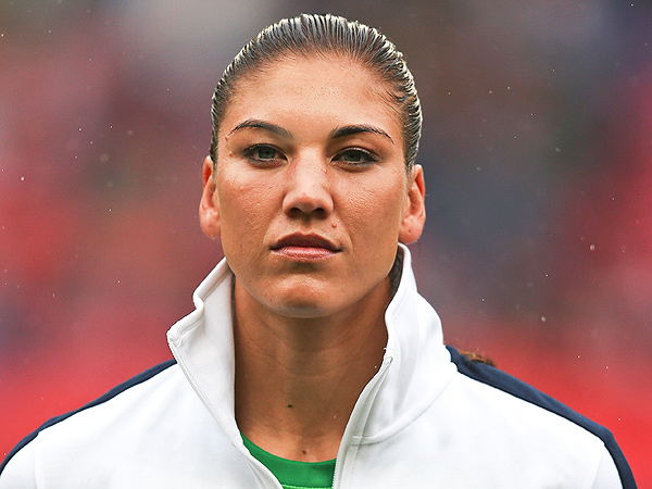 Hope solo fappening Hope Solo